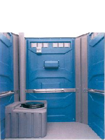 Portable Disabled Toilet Interior